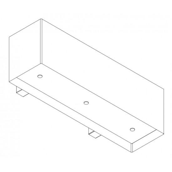 Wave Design 1120.23 120 cm wandafzuigkap - wit RAL 9016 mat - interne motor recirculatie - LED