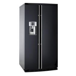 IOMABE ORE30VGF7B side by side - zwart RAL 9005 (glans) - vrijstaand 92,5cm x 181cm