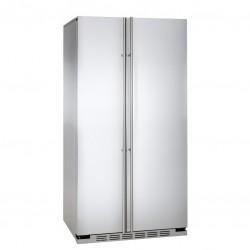 IOMABE ORGS2DBF80 91cm Side-by-Side koelkast RVS vrijstaand