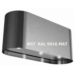 Wave Design 1109.02 wandschouw afzuigkap 90 cm - WIT RAL 9016 mat - vaste interne motor - LEDlampen dimbaar