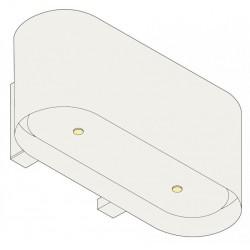 Wave Design 1119.20 90 cm wandafzuigkap - wit RAL 9016 mat - interne motor recirculatie - LED
