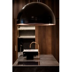 Wave Design 2176.22 afzuiglamp 82 cm - 2 kleuren naar keuze mat/glanzend - interne motor -  LED