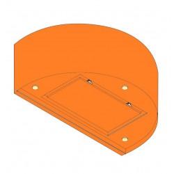 Wave Design 1620.31 wandafzuigkap 90 cm - kleur naar keuze - interne motor met afvoer naar buiten - LED