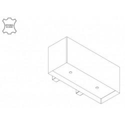 Wave Design 1120.41 90 cm wandafzuigkap - geschikt voor lederen bekleding - kleur naar keuze - interne motor recirculatie - LED