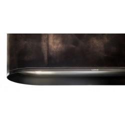 Wave Design 1119.54 120 cm wandafzuigkap - geschikt voor lederen bekleding - kleurkeuze - motor met afvoer naar buiten - LED