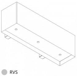 Wave Design 1120.01 120 cm wandafzuigkap - RVS - interne motor recirculatie - LED