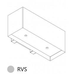 Wave Design 1120.10 90 cm wandafzuigkap - RVS - motor met afvoer naar buiten - LED