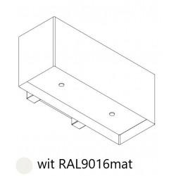 Wave Design 1120.30 90 cm wandafzuigkap - wit RAL 9016 mat - motor met afvoer naar buiten - LED