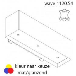 Wave Design 1120.54 120 cm wandafzuigkap - geschikt voor lederen bekleding - kleur naar keuze - motor met afvoer naar buiten - LED