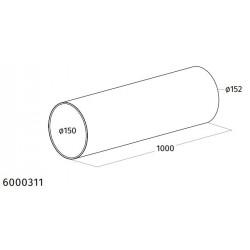 Wave Design 6000311 rondkanaal 150 mm binnen, 152 mm buiten