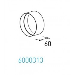 Wave Design 6000313 Afvoerkanalen rond 150 Verbindingsmof Ø 152 mm binnen
