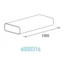 Wave Design 6000316 Afvoerkanalen vlak 150 Vlakkanaal 230 x 80 mm buiten