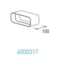 Wave Design 6000317 Afvoerkanalen vlak 150 Verbindingsmof 230 x 80 binnen
