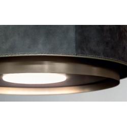Wave Design 2620.44 afzuiglamp 90 cm - geschikt voor lederen bekleding - kleur naar keuze - vaste interne motor - LEDDISC