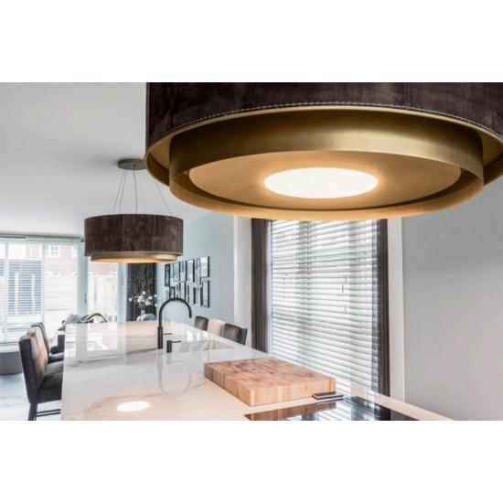 Wave Design 2630.21 afzuiglamp 90 cm - 1 kleur naar keuze - vaste interne motor - LEDDISC