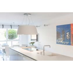 Wave Design 2627.21 afzuiglamp 90 cm - 1 kleur naar keuze - mat/glanzend - interne motor - LED