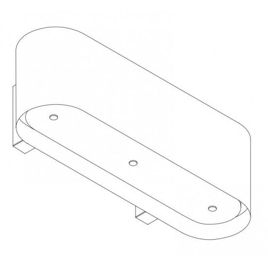 Wave Design 1119.23 120 cm wandafzuigkap - wit RAL 9016 mat - interne motor recirculatie - LED