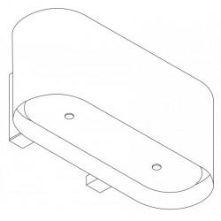Wave Design 1119.30 90 cm wandafzuigkap - wit RAL 9016 mat - motor met afvoer naar buiten - LED
