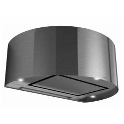 Wave Design 1620.40 wandafzuigkap 90 cm - geschikt voor lederen bekleding - RVS - interne motor recirculatie - LED