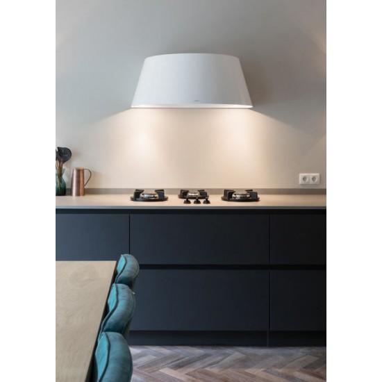 Wave Design 1627.22 wandafzuigkap 90 cm - 2 kleuren naar keuze - interne motor recirculatie - LED