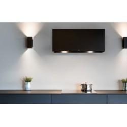 Wave Design 1120.31 90 cm wandafzuigkap - kleur naar keuze - mat/glanzend  - motor met afvoer naar buiten - LED
